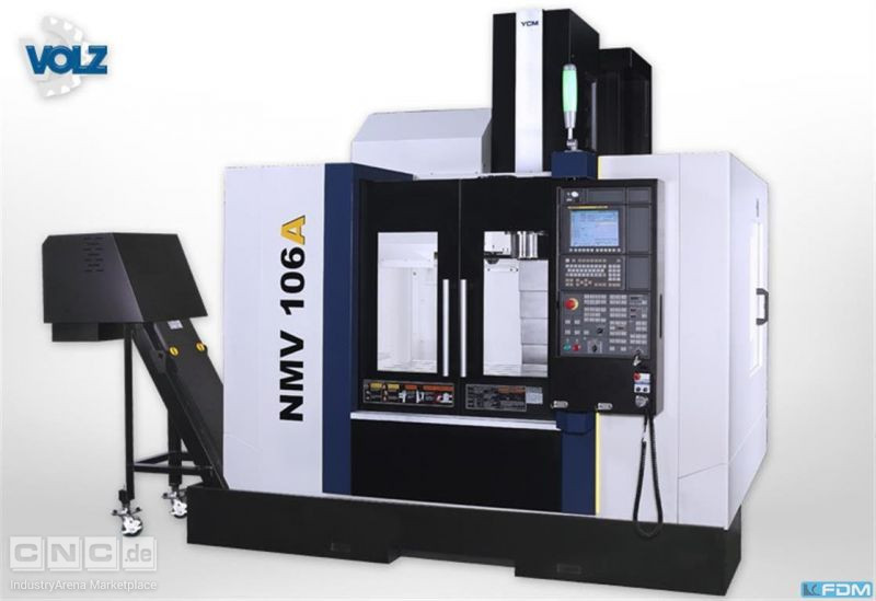 milling machining centers - vertical YCM NMV 106A