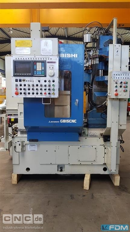 Gear Hobbing Machine - Vertical MITSUBISHI GB15CNC