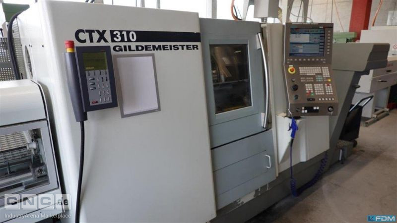 CNC Turning- and Milling Center GILDEMEISTER CTX 310 V 3