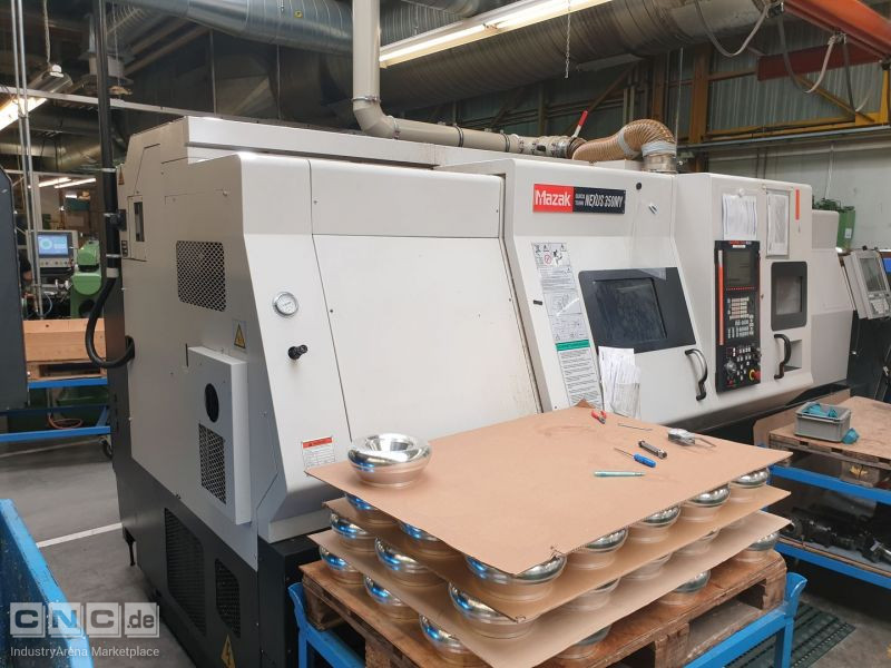 CNC Drehmachine Mazak Quick Turn Nexus 350 MY