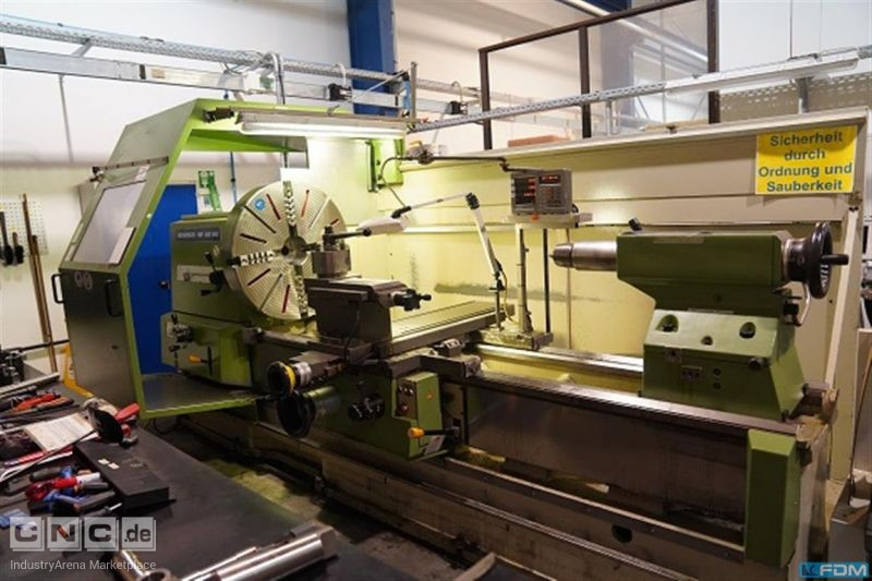 Center Lathe VDF BOEHRINGER DUE 800
