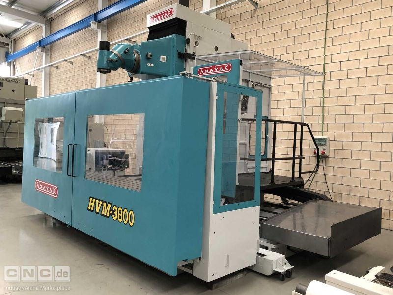Travelling Column Milling Machines Anayak HVM-3800