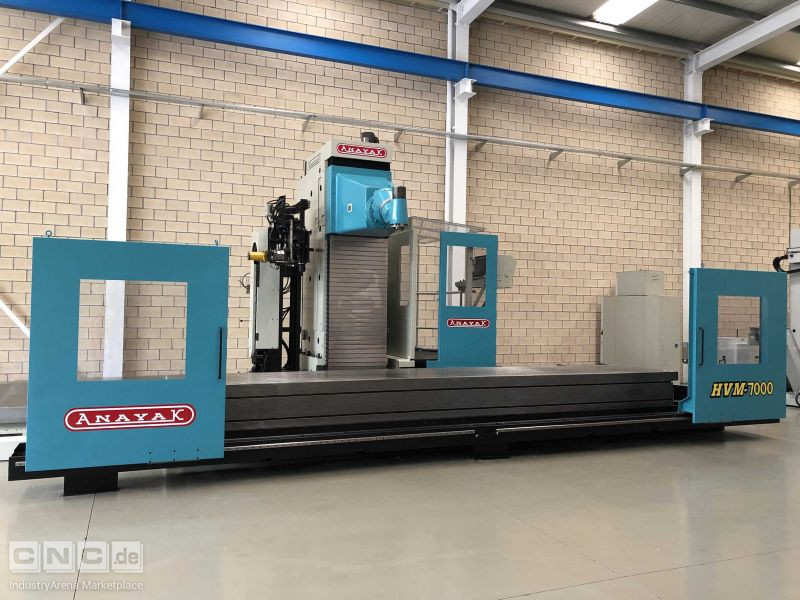 Anayak HVM-7000 Travelling Column Milling Machines