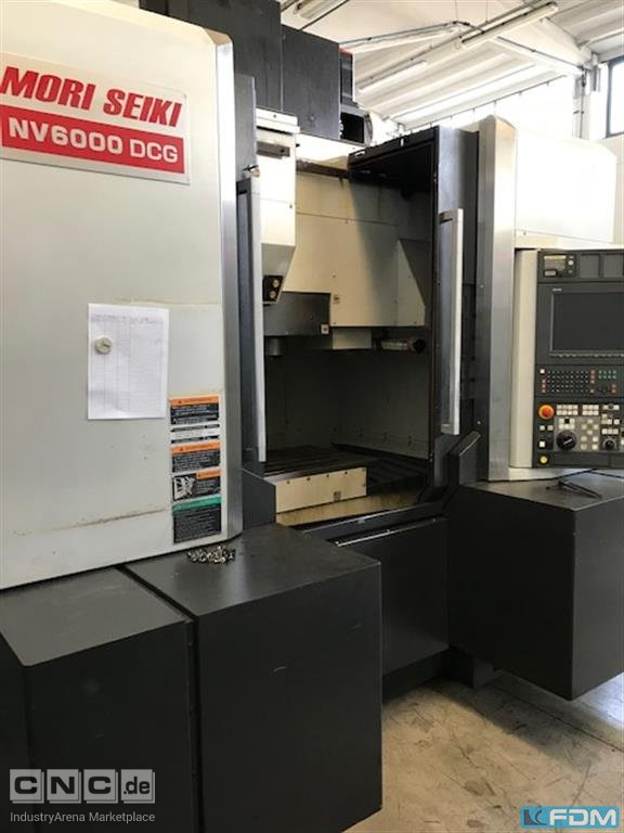 Machining Center - Vertical MORI SEIKI NV 6000 DCG 40