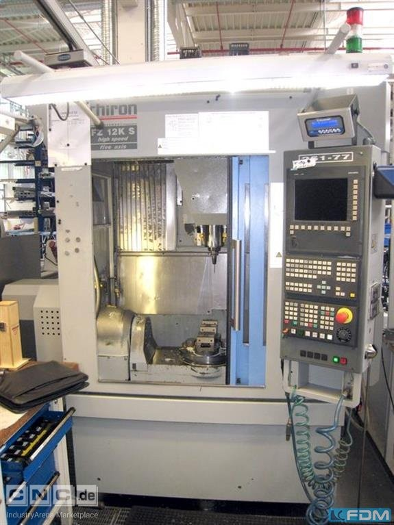 Machining Center - Universal CHIRON FZ 12K-S five axis high speed