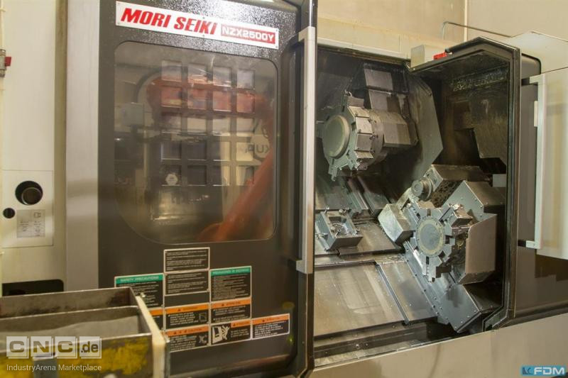 CNC Turning- and Milling Center DMG MORI NZX 2500 / 1000 Y