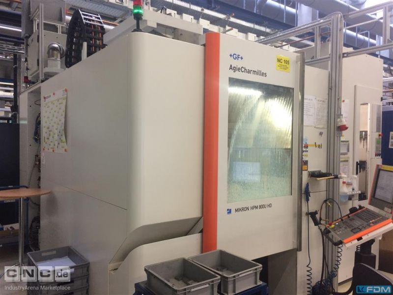 Machining Center - Universal MIKRON HPM 800U HD