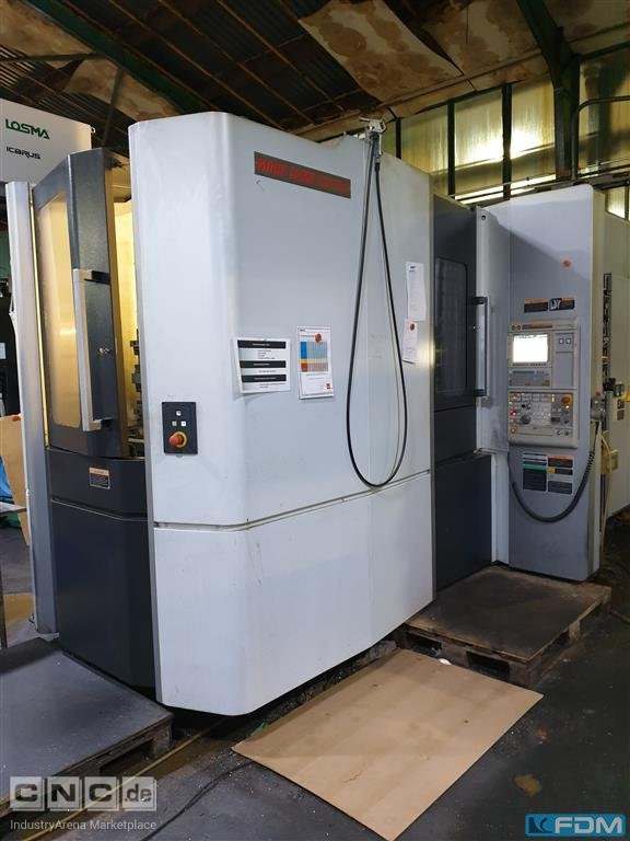 Machining Center - Horizontal MORI SEIKI NHX 5000