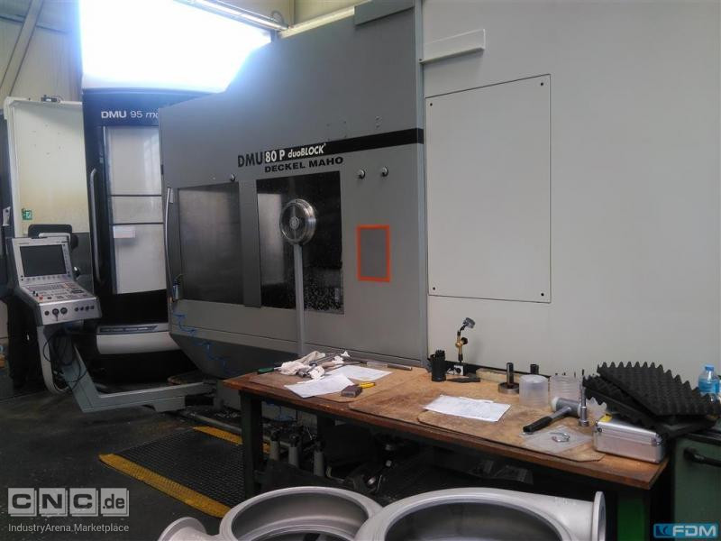 Machining Center - Universal DECKEL DMU 80 P duoBLOCK