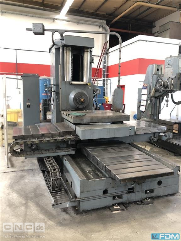 Table Type Boring and Milling Machine SCHARMANN FB 90 REPROMAT