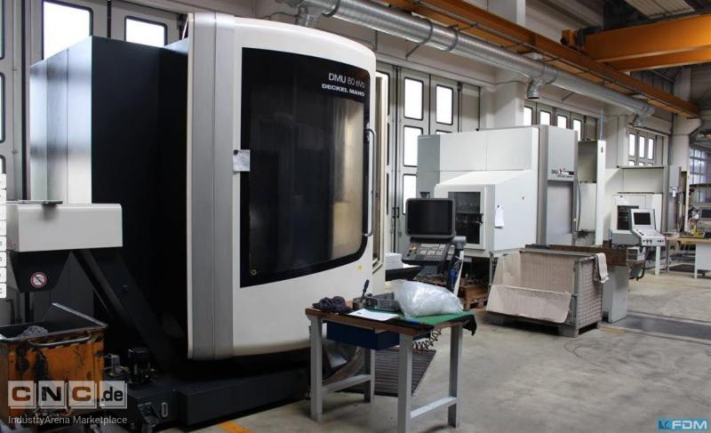 Machining Center - Universal DECKEL DMU 80 evo