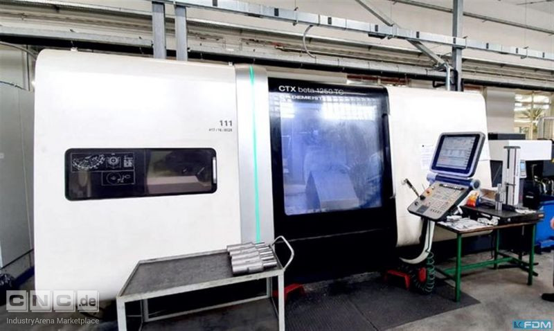 CNC Turning- and Milling Center GILDEMEISTER CTX beta 1250 TC 4A