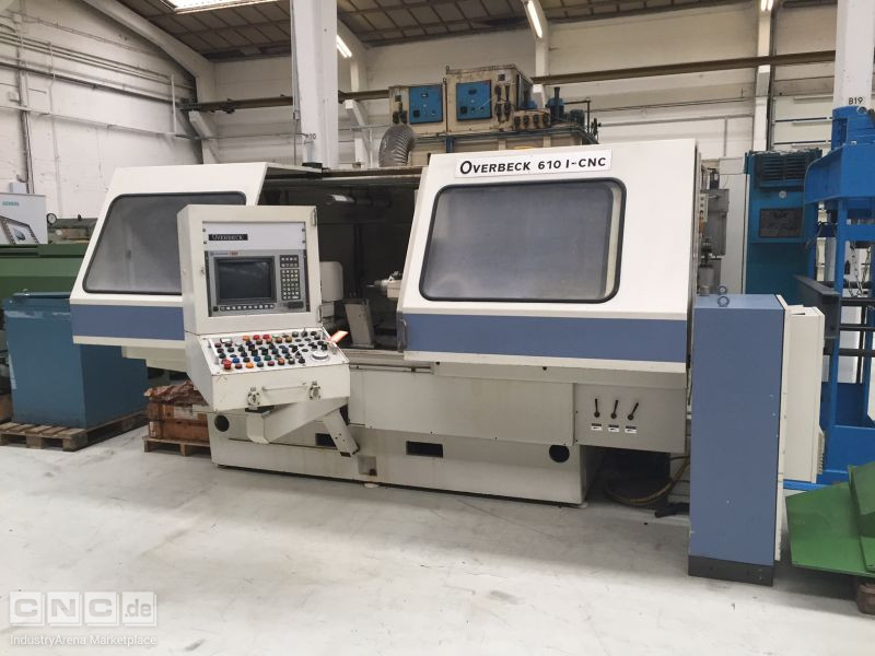OVERBECK 6101 CNC INTERNAL GRINDER