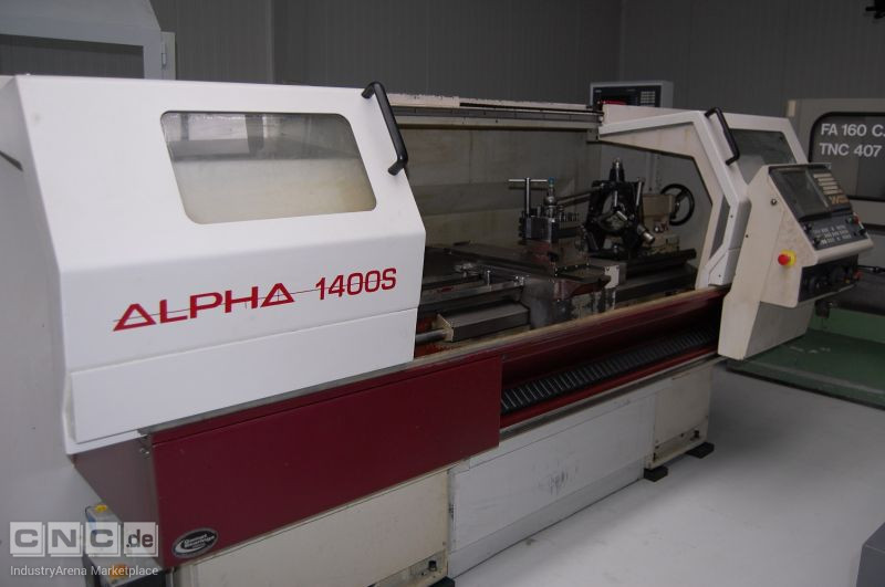 HARRISON ALPHA 1400S CNC TEACH-IN LATHE (2005)