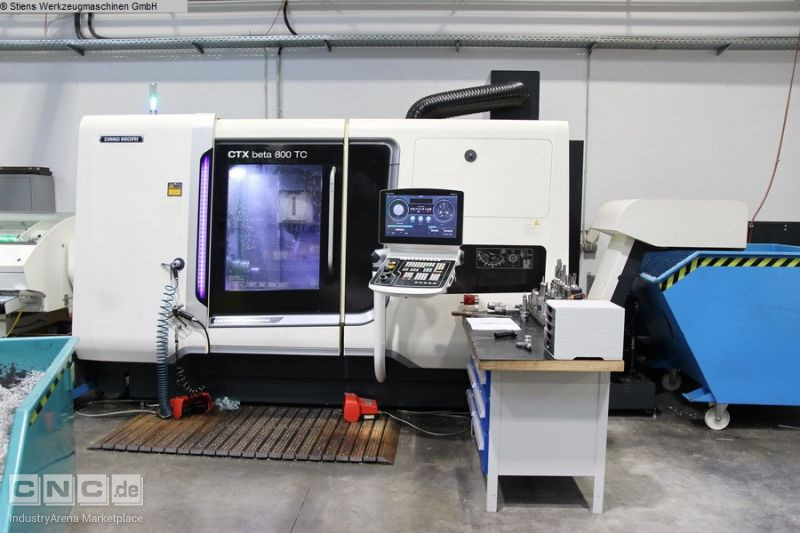 DMG MORI CTX beta 800 TC