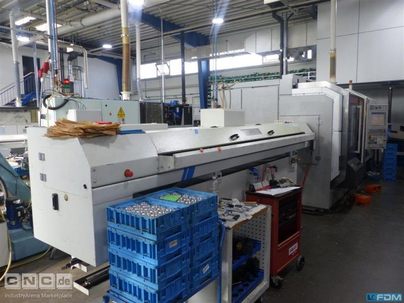 CNC Turning- and Milling Center MORI SEIKI NZ 1500 T2Y
