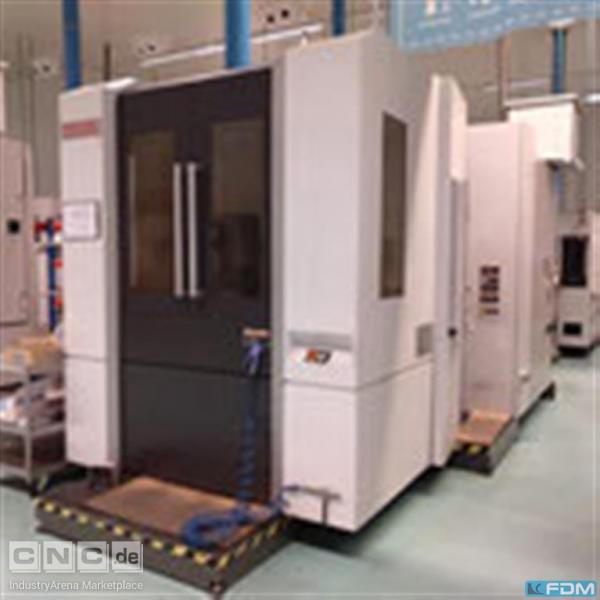 Machining Center - Horizontal Mori Seiki NH 5000 DCG