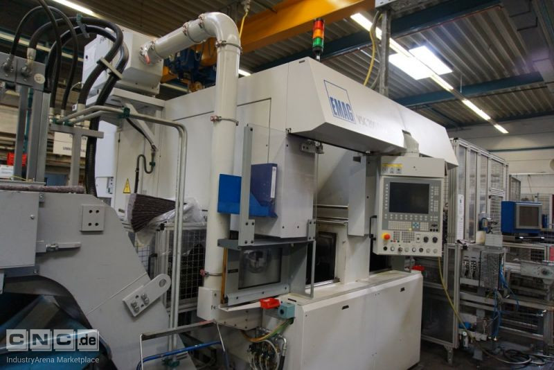 EMAG VSC 200 DUO CNC-Double Spindle Vertical Turning Machine