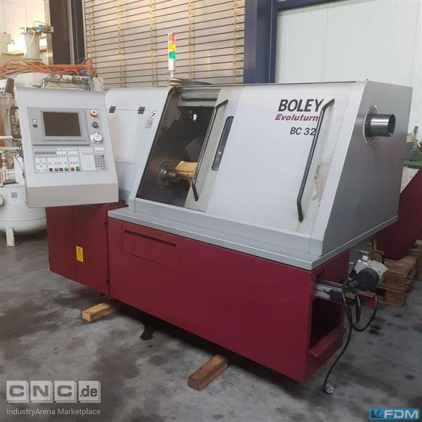 CNC Turning- and Milling Center Boley BC32