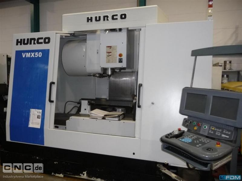 Machining Center - Vertical HURCO VMX 50/40T