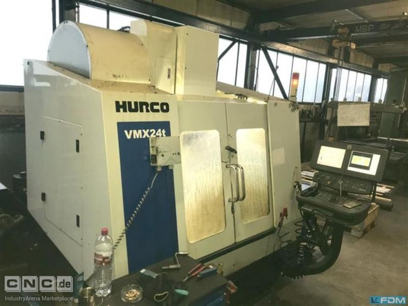 Machining Center - Vertical HURCO VMX 24 T