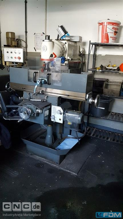 Universal Milling Machine OPTIMUM UF 100