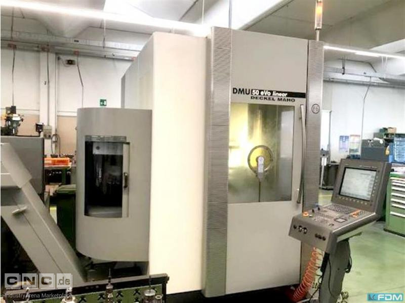 Machining Center - Universal DECKEL DMU 50 evo linear