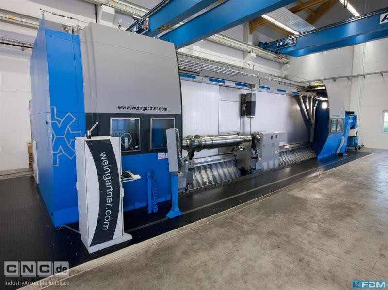 CNC Turning- and Milling Center WEINGÄRTNER MPMC 1200S-8000