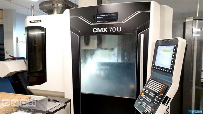 Machining Center - Universal DECKEL CMX 70 U