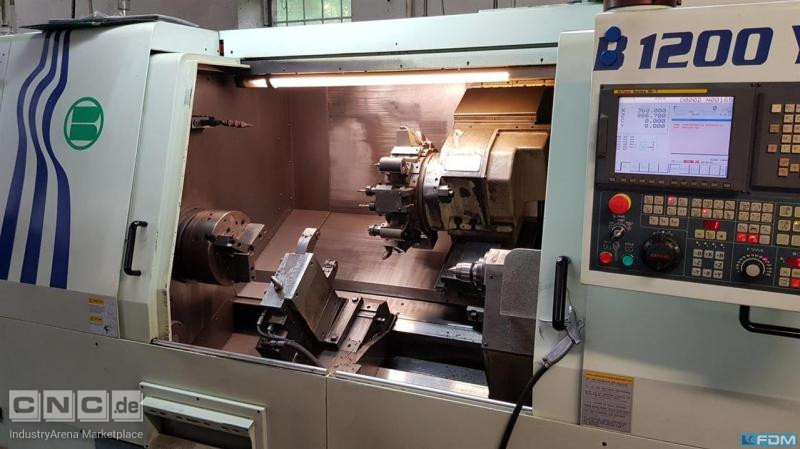 CNC Turning- and Milling Center Biglia B1200Y (mit C- und Y-Achse)