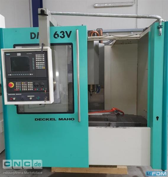 Machining Center - Vertical DECKEL MAHO DMC 63V