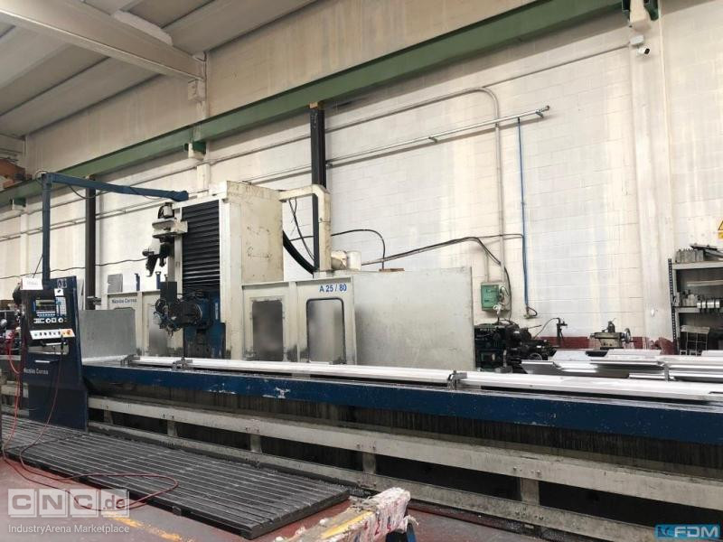 Travelling column milling machine Correa - A25/80