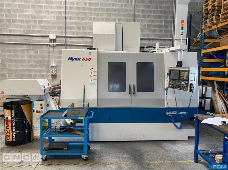 Machining Center - Vertical DAEWOO MYNX 650