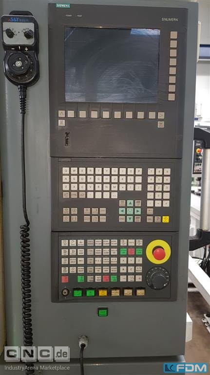 Gear Hobbing Machine - Vertical S&T Dynamics GHO-200