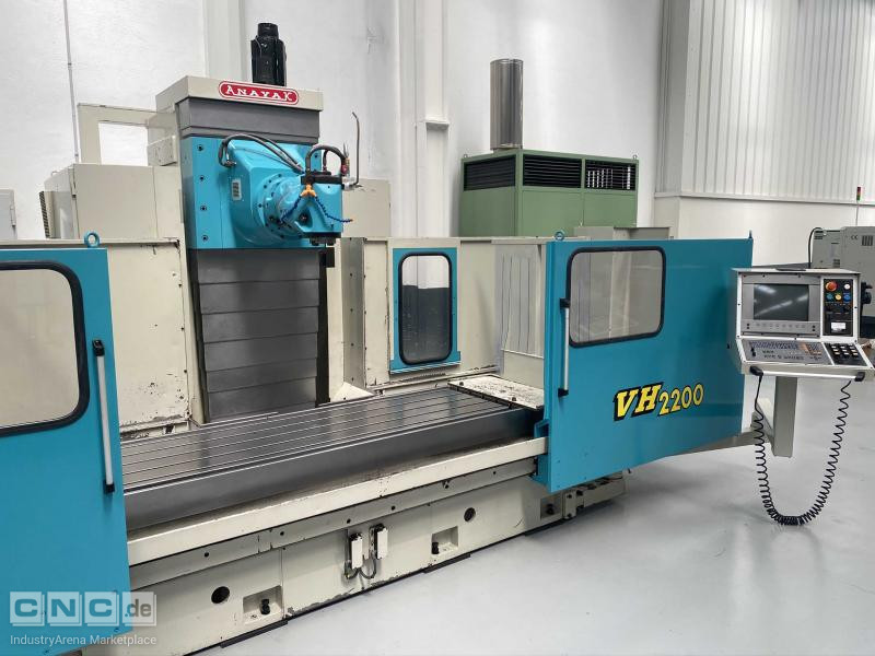 Anayak VH 2200 Bed Type Milling Machine