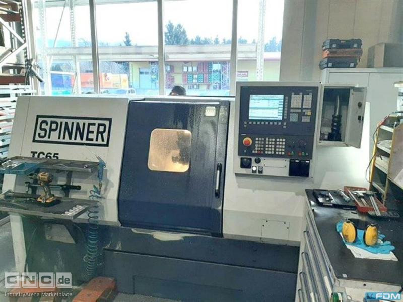 CNC Lathe SPINNER TC 65 MC