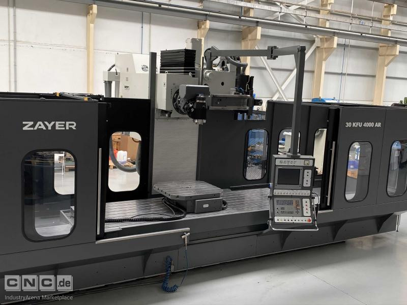 Zayer 30 KFU 4000 AR Bed Type Milling Machine