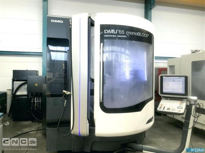 Machining Center - Universal DECKEL DMU 65 monoBlock