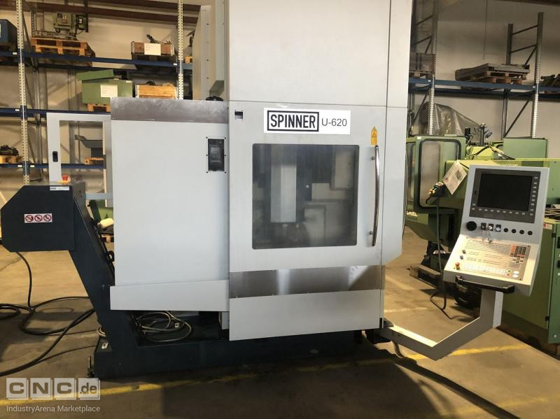 CNC Machining Centre 5 Axis Spinner U5-620
