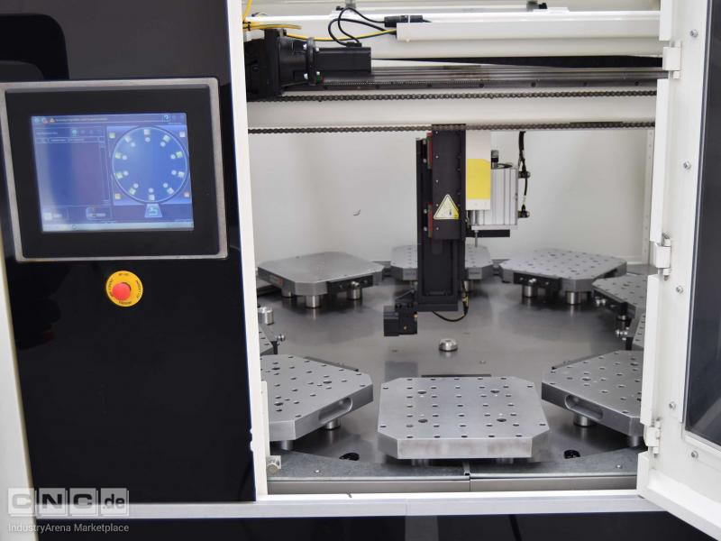 DMG DMU 50 With DMG Automation PH15018 5 Axis Machining Center