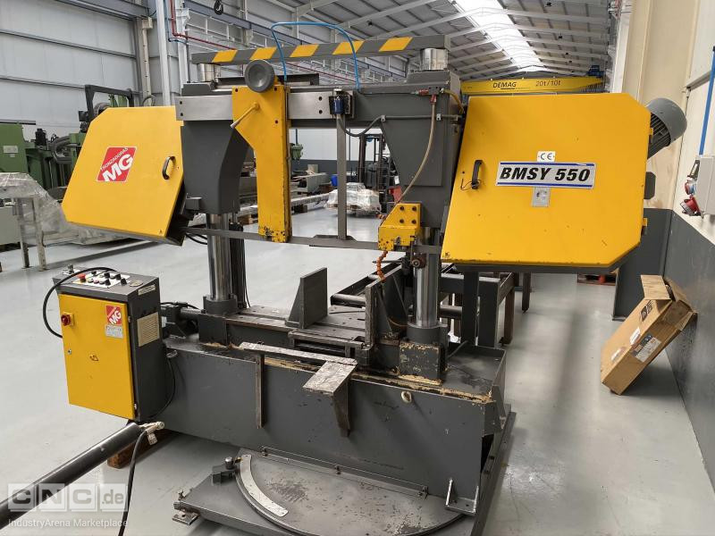 MG BMSY 560-C Twin Pillar Band Saw