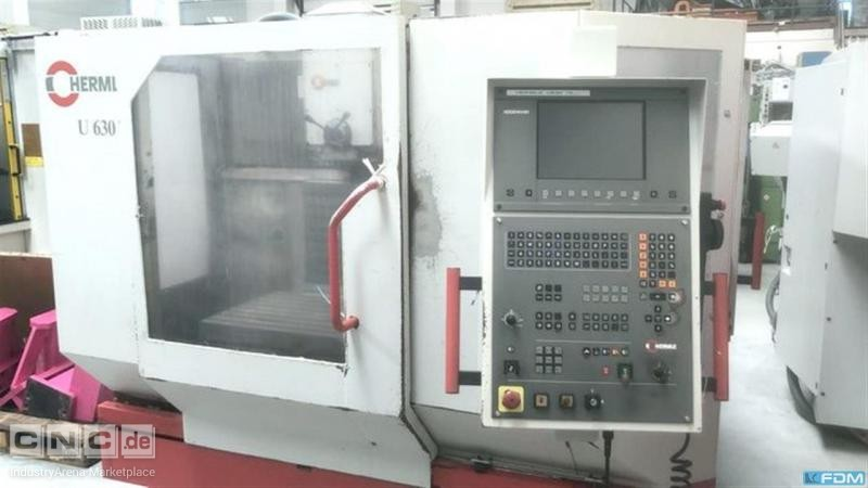 Universal Milling and Boring Machine HERMLE U 630 T