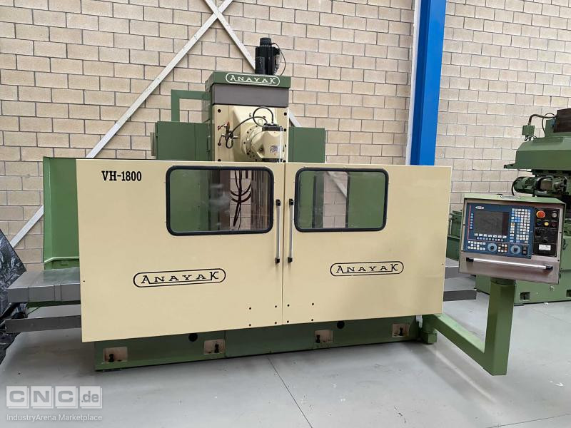 Anayak VH-1800 Bed Type Milling Machine