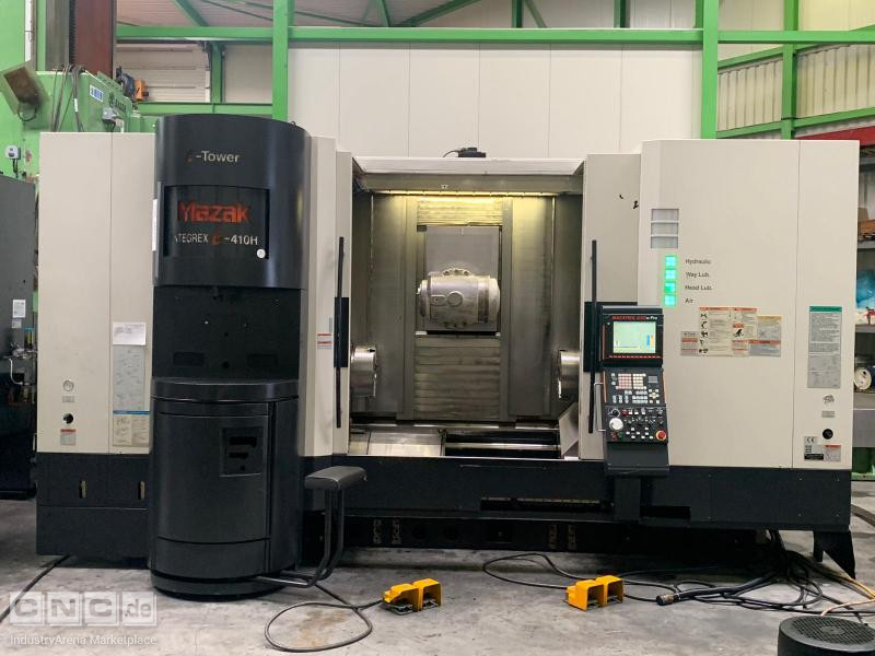 Mazak Integrex E 410 HS CNC Turning Lathe