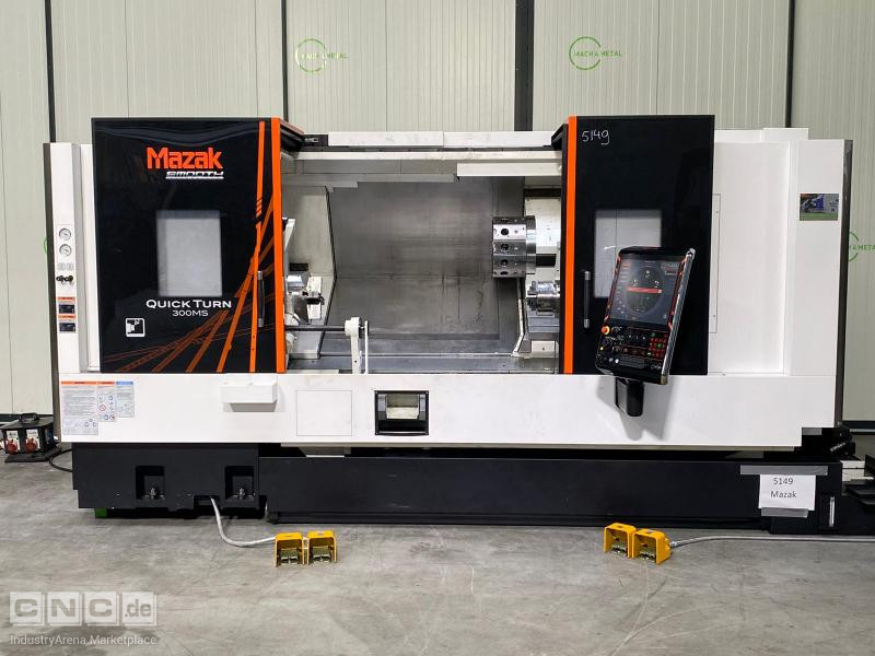 Mazak Quick Turn Smart 300 MS CNC Lathe
