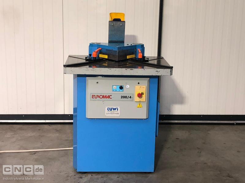 Euromac 200 / 4 Notching machine
