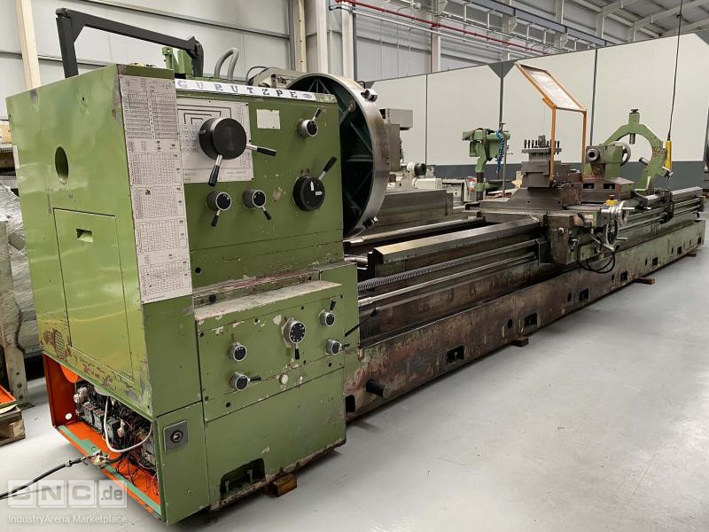 Gurutzpe Super AT 500/6000 Conventional Lathe