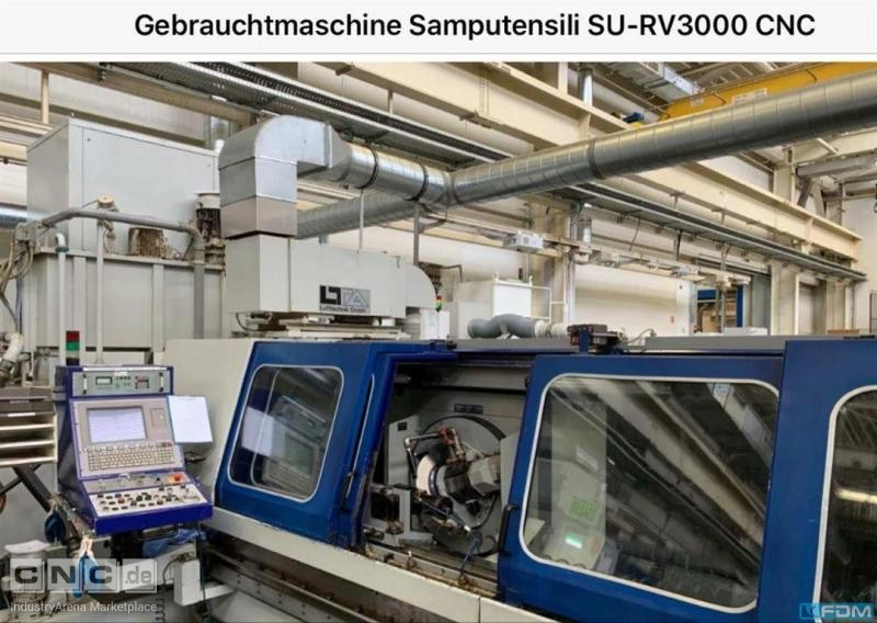 Cylindrical Grinding Machine Samputensili RV3000